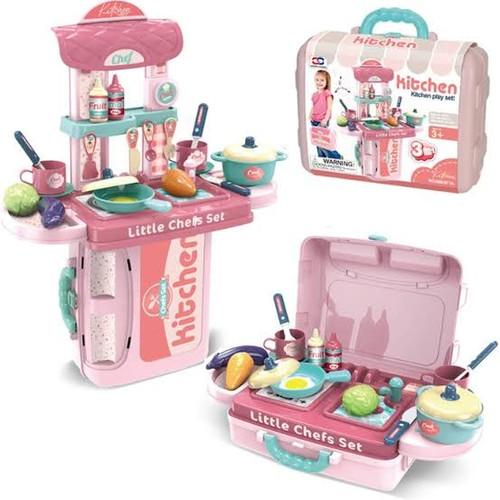 Foto Produk Mainan Masak Masakan Anak Perempuan Alat Dapur Kitchen Set Koper dari THE SUPERTOYS