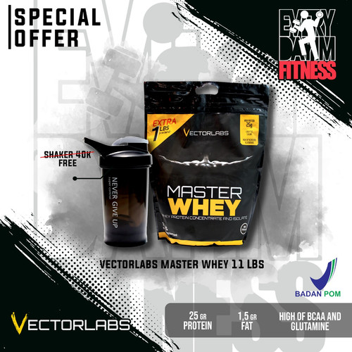 Foto Produk Vectorlabs Master Whey 10 lbs (Whey Protein) - Choco Milk dari everydayimfitness