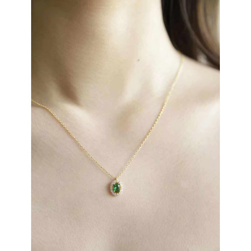 Foto Produk Dear Me - Myriad Necklace (925 Sterling Silver with 18K Gold Plating) dari Dear Me Jewelry