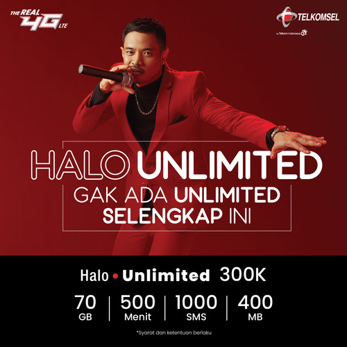 Foto Produk Halo Unlimited Super Heavy dari Telkomsel