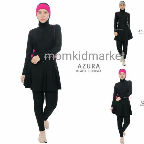 Foto Produk Baju Renang Muslim Muslimah Topi Azura Edora - M dari Momkidmarket