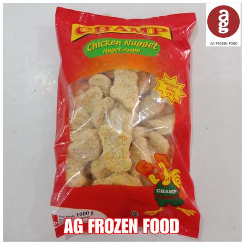 Foto Produk Champ Nugget Ayam 1kg dari AG FROZEN FOOD