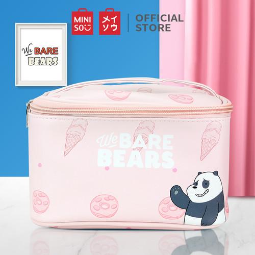 Foto Produk MINISO WE Bare Bears Tas Pouch Make Up Tempat Kosmetik Penyimpanan Bag - Random dari Miniso Indonesia