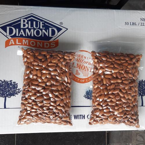 Foto Produk kacang almond mentah(raw)blue diamond 1kg dari toko importer
