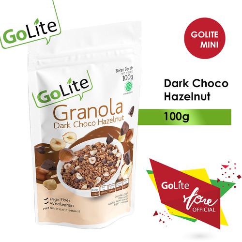 Foto Produk GoLite Granola Dark Chocolate Hazelnut 100g dari GoLite Granola Official
