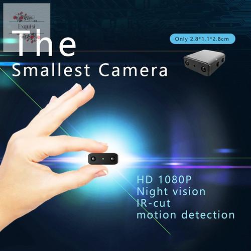 Foto Produk Intelligent 1080P HD Mini Kamera XD WiFi Night Vision IR Spy cam - non wifi dari Sumber Berkat 1