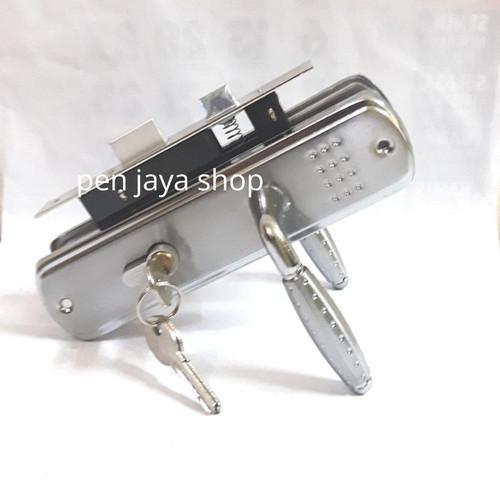 Foto Produk kunci pintu tanggung handle tanggung top grande 9036 - silver dari Pen jaya shop