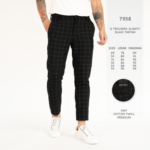 Foto Produk Celana Panjang Pria / Celana Chino Motif Kotak-Kotak dari Simpleclothes.id