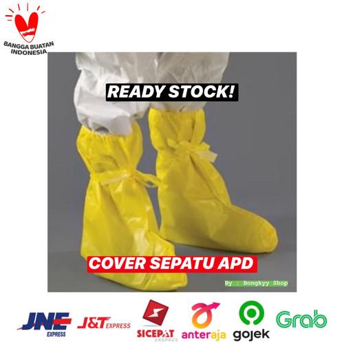 Foto Produk Cover Sepatu APD / Shoes Cover APD / Sepatu Pelindung Medis Parasut dari Bongkyy shop