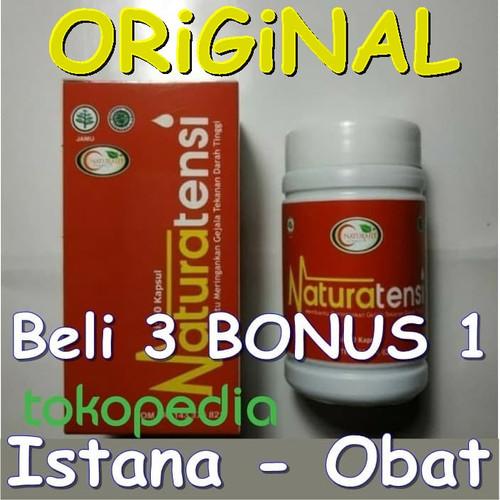Foto Produk NaturaTensi Obat Tekanan Darah Tinggi Herbal - NATURA TENSI Asli BPOM dari Istana - Obat