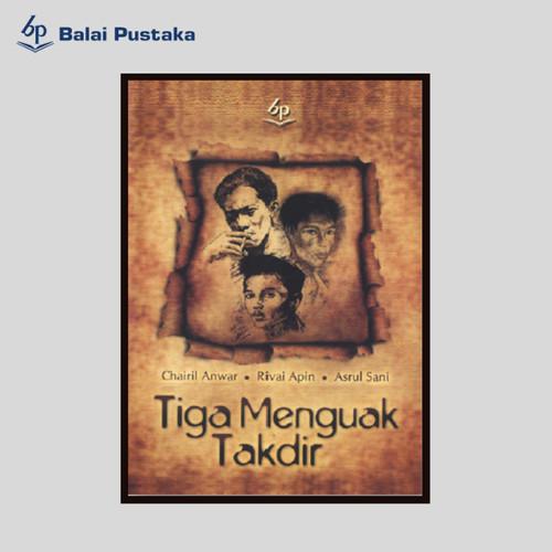 Foto Produk Tiga Menguak Takdir karya Chairil Anwar, Balai Pustaka dari Balai Pustaka