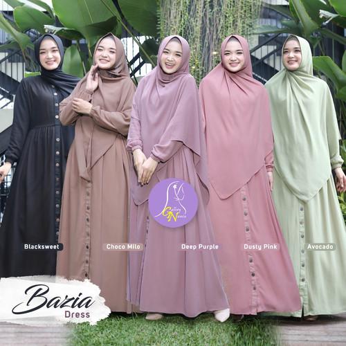 Foto Produk Dress Bazia Original By Galeri Namia #Orinamia #gamis dari Uzmaku18 Shop