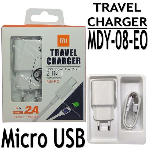 Foto Produk CHARGER XIAOMI REDMI 5A 5 PLUS 2A USB MICRO ORIGINAL 100% MI MDY-08-EO dari EVAN JAYA
