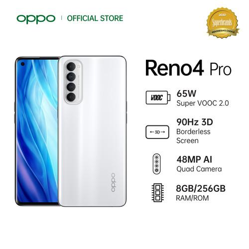 Foto Produk OPPO Reno4 Pro Smartphone [256GB/ 8GB] - Putih dari OPPO OFFICIAL STORE