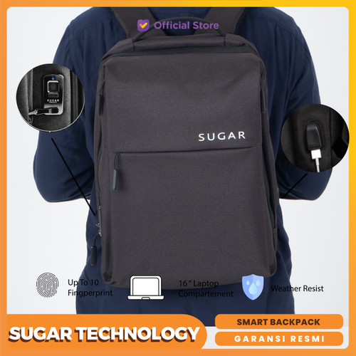 Foto Produk Sugar Soka Smart Backpack Fingerprint Lock System dari SUGAR Technology