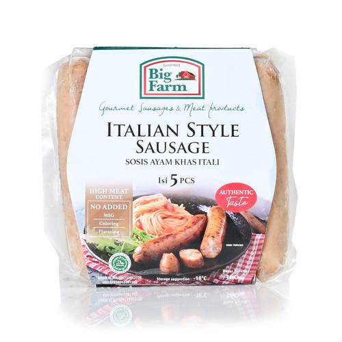 Foto Produk Big Farm Italian Style Sausage Sosis isis 5pcs 360g dari SESA Official