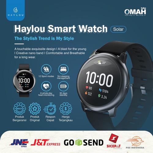 Foto Produk Xiaomi Haylou Solar LS05 Smartwatch Original Jam Tangan Garansi dari omah_toko