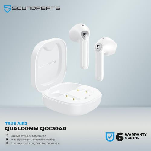 Foto Produk SoundPEATS True Air2 True Wireless Earbuds In-Ear Stereo - Putih dari SOUNDPEATS OFFICIAL