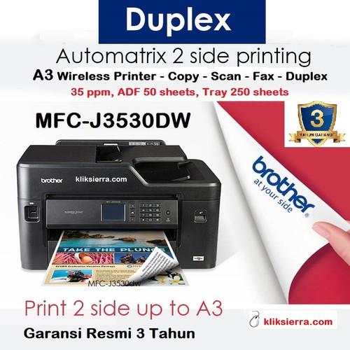 Foto Produk BROTHER MFC-J3530DW A3 Inkjet Printer AIO J3530 DW Multifunction WiFi dari kliksierra