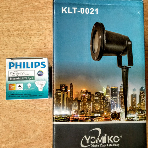 Jual Lampu Taman 12v 5w Led Philips Led Sorot Outdoor Tahan Air Waterproof Jakarta Barat Cctv High Definition Tokopedia