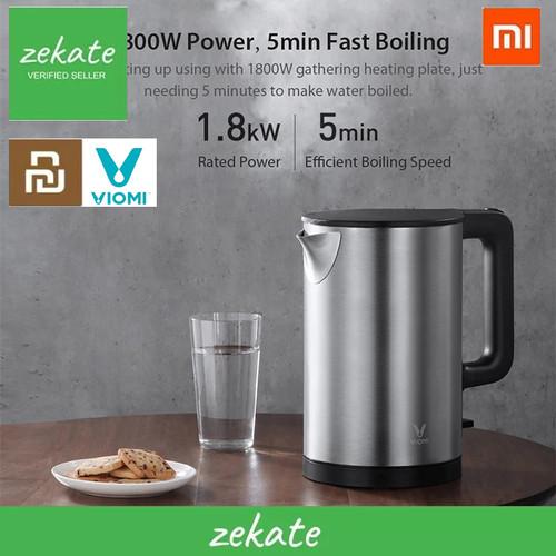 Foto Produk VIOMI Teko Electric Kettle Anti-scalding 1.5L 1800W V-MK151B dari zekate