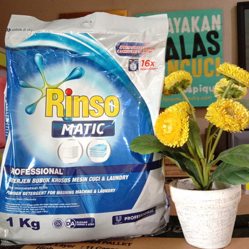 Foto Produk Deterjen Bubuk Rinso Professional 1 Kg dari SupermarketLaundry Asli