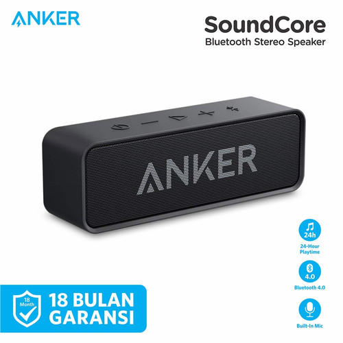 Foto Produk Speaker Bluetooth Anker Soundcore Stereo - A3102 - Hitam dari Anker Indonesia