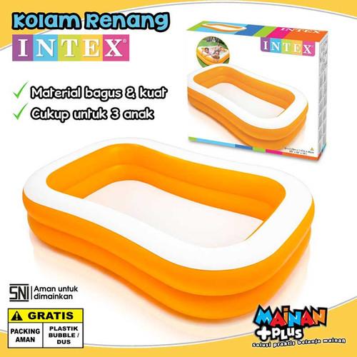 Foto Produk KOLAM RENANG ANAK INTEX UKURAN JUMBO FAMILY POOL SNI dari MainanPlus