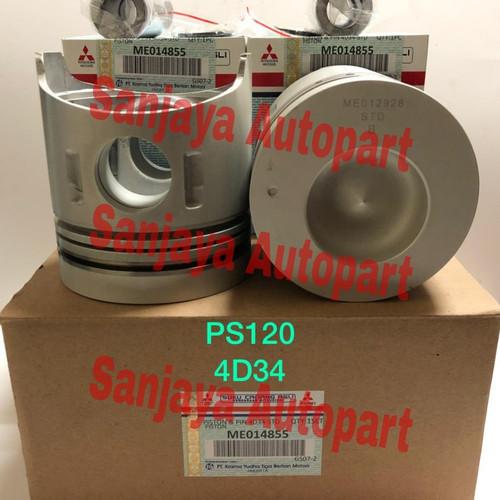 Foto Produk PISTON SET ASSY SEHER MITSUBISHI 4D34 PS120 dari sanjaya autopart