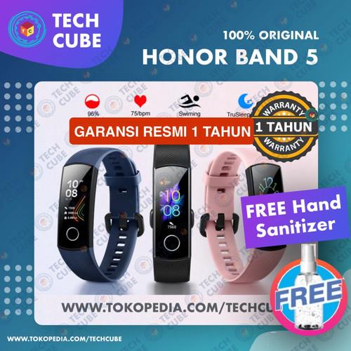 Foto Produk Huawei Honor Band 5 Smartband Smartwatch Blood Oxygen Heart Rate Alt 4 - Hitam dari Tech Cube