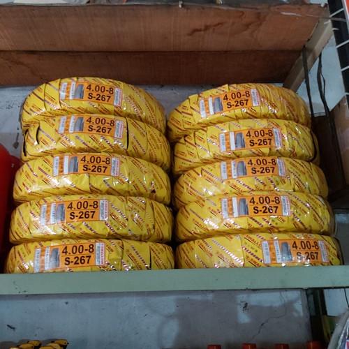Foto Produk Ban luar swallow 400-08 bajaj roda 3 TVS king/RE CNG dari Toko Oli Cahaya