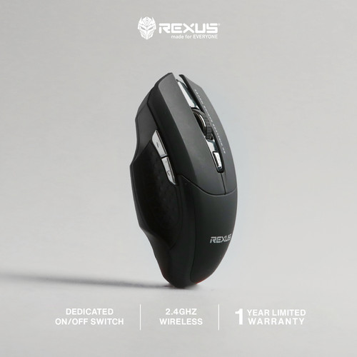 Foto Produk Rexus Mouse Wireless Gaming Xierra 109 dari Rexus Official Store
