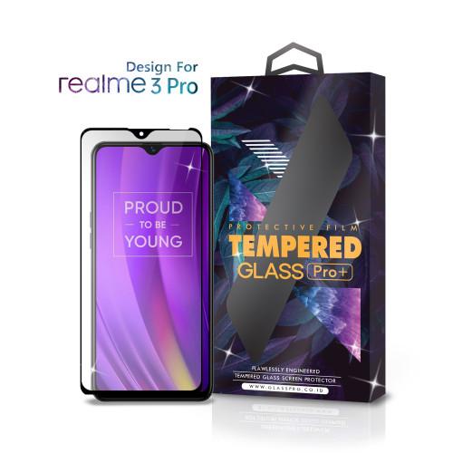 Foto Produk Tempered Glass Realme 3 Pro Full Cover Black - Premium Glass Pro dari Glass Pro Indonesia