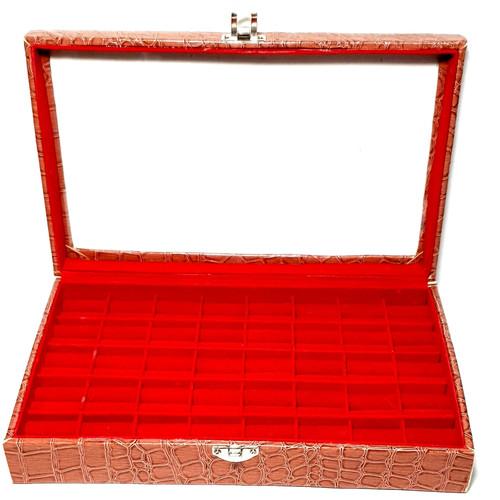 Foto Produk Kotak tempat cincin batu akik dan permata isi 32pcs dari Sinar Permata Nusantara