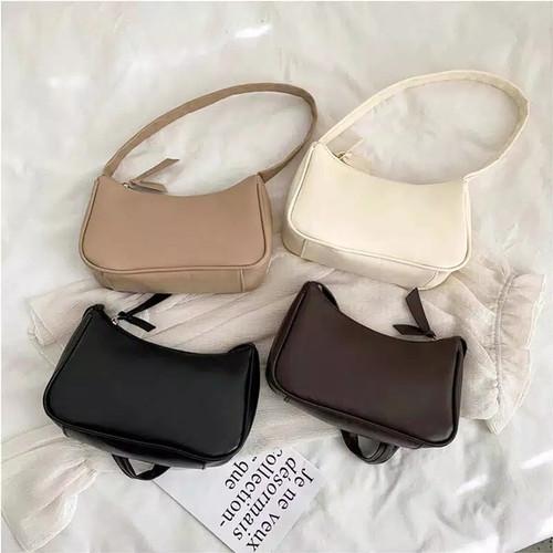 Foto Produk Shoulder bag wanita tas baju cewek kekinian style korean - Putih dari Bandung Kosmetik
