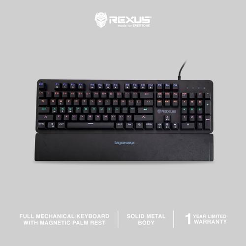 Foto Produk Rexus Keyboard Gaming Mechanical Legionare MX3.2 - Red Switch dari Rexus Official Store