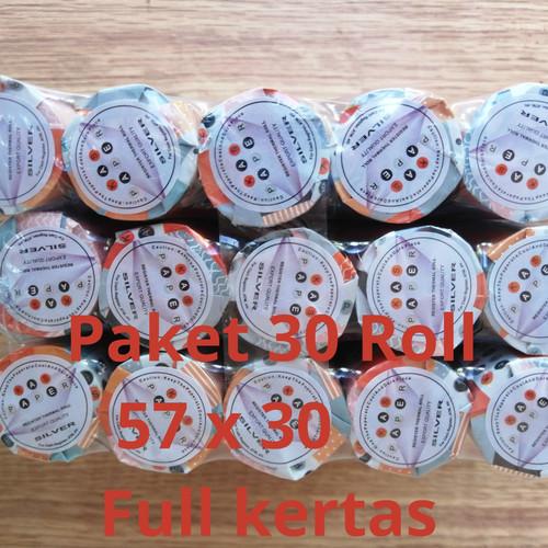 Foto Produk ( ISI 30 Roll) Kertas Print Kasir thermal paper Roll 57 x 30 / 57x30 dari smart buyer solution