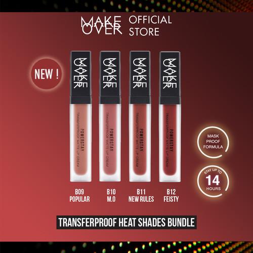 Foto Produk Make Over Transferproof Matte Lip Cream 4 Pack (New Shades) dari Make Over Official Shop