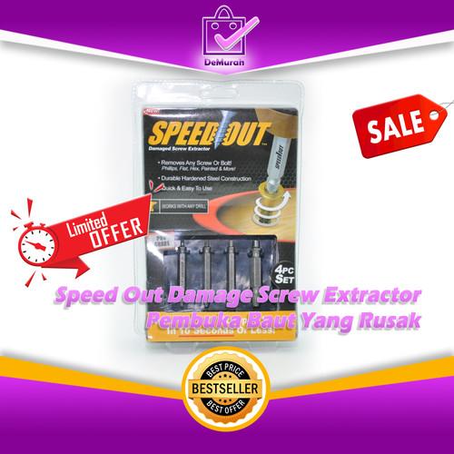Foto Produk Speed Out Damage Screw Extractor-Pembuka Baut Yang Rusak dari Demurah Dot Com