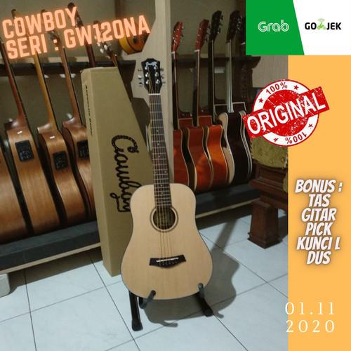 Foto Produk Gitar Akustik 3/4 String Cowboy original Import dari Travertine music