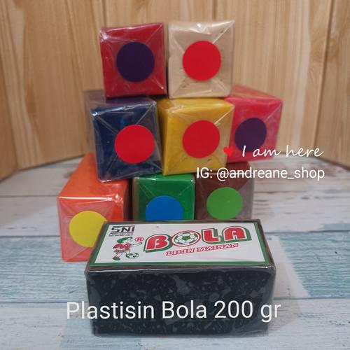 Foto Produk Plastisin/ Malam Bola ukuran 4,5 x 5x 8 cm - Putih dari Andreane Shop