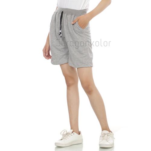 Foto Produk Celana Pendek Wanita Hot Pants Santai Polos Kaos Baby Terry Rib -BTR52 dari JuraganKolor