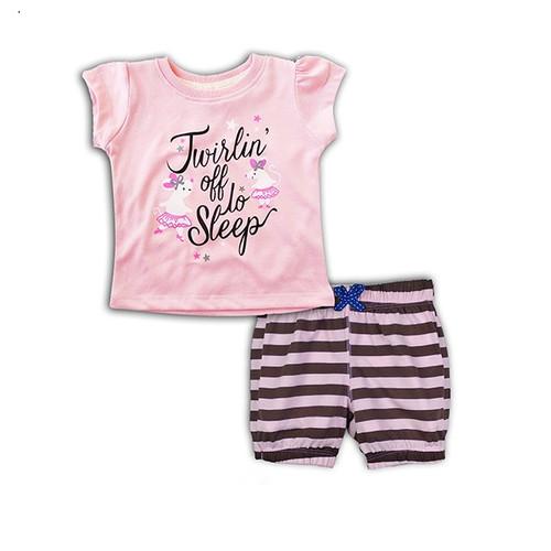 Foto Produk Bearhug Setelen Pendek Anak Perempuan XHD6 Pink Muda Twirlin 6-18M - 6 bulan dari Bearhug-Id