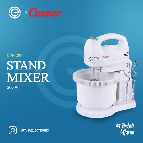 Foto Produk COSMOS Stand Mixer CM-1289 - Putih dari UTAMA_ELECTRONIC