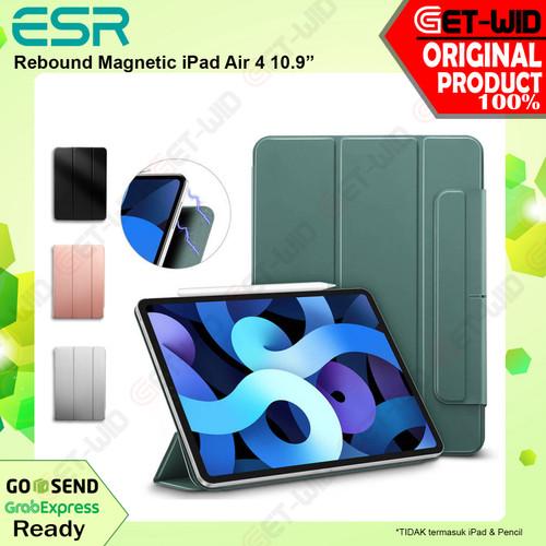 Foto Produk Case iPad Air 4 10.9 Inch ESR Rebound Magnetic Slim Casing - Hitam dari GET-WID Official