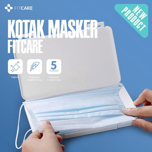 Foto Produk Kotak Masker Tempat Penyimpanan Masker Fitcare dari fitcareofficial