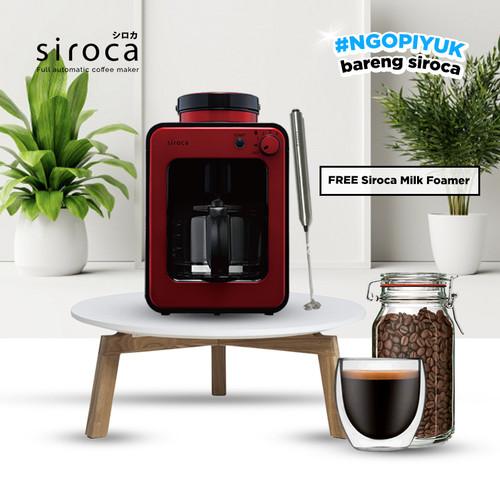 Foto Produk Siroca Coffee Maker - Merah dari NEOHAUS Official