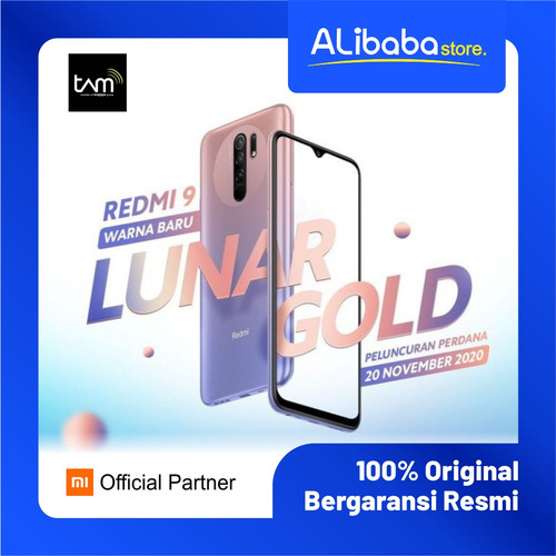 Foto Produk Xiaomi Redmi 9 (4GB+64GB) 13MP Quad Kamera Helio G80 Layar 6.53 FHD+ B - 3GB 32GB dari alibabastore.id