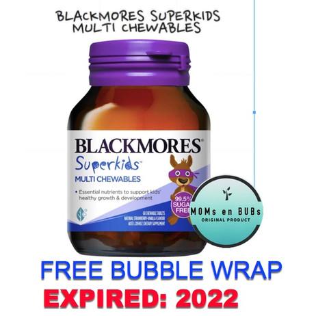 Foto Produk BlackMores SuperKids Multi Chewables 60 Tablet dari Momsenbubs
