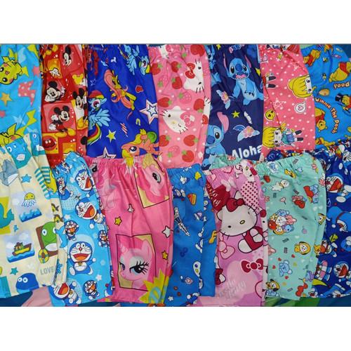 Foto Produk Celana pendek ANAK 0-14TH motif karakter kartun kolor santai PROMO - ANAK S, CEWE dari jajangarut12